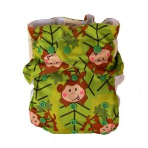Baby BeeHinds Magic Alls Multifit Nappy - Monkey Fun