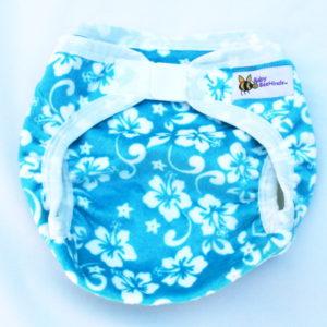 Baby BeeHinds Minkee PUL Nappy Cover - Aloha Baby