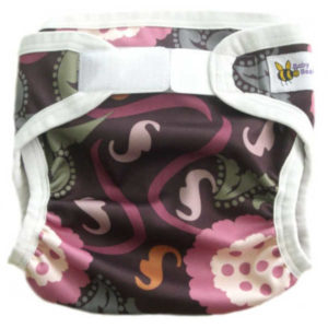 Baby BeeHinds PUL Nappy Cover - Gala Print