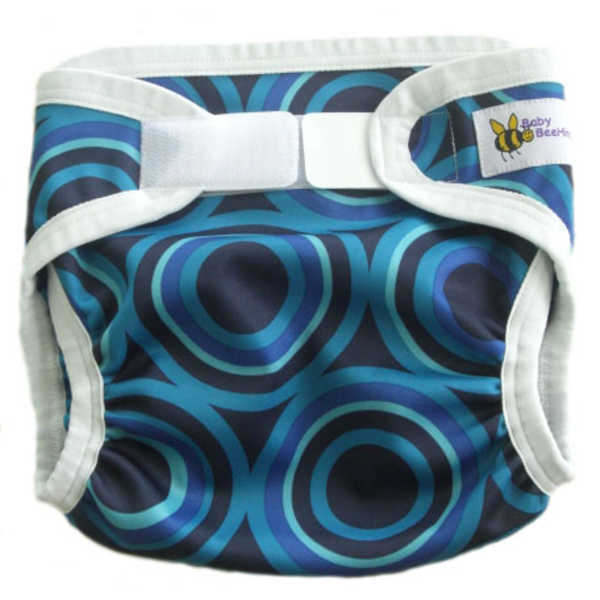 Baby BeeHinds PUL Nappy Cover - Metro Print Limited Edition