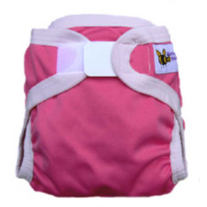 Baby BeeHinds PUL Nappy Cover - Pink Intensity