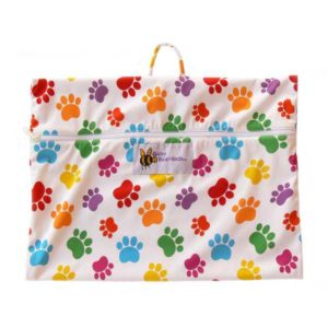 Baby BeeHinds Wet Bag - Paw Print Limited Edition