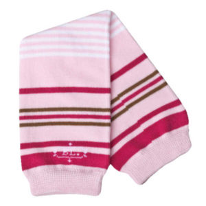 Babylegs Organic Leg Warmer - Red Rose Stripes