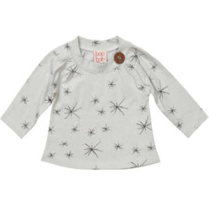 Baobab Grey Starburst Button Tee
