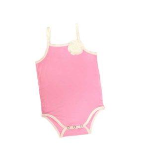 Bluebird Hummingbird Bodysuit - Pink Ivory