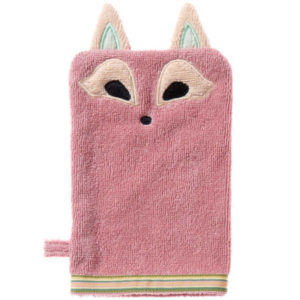Breganwood Organics Bath Mit - Playful Fox