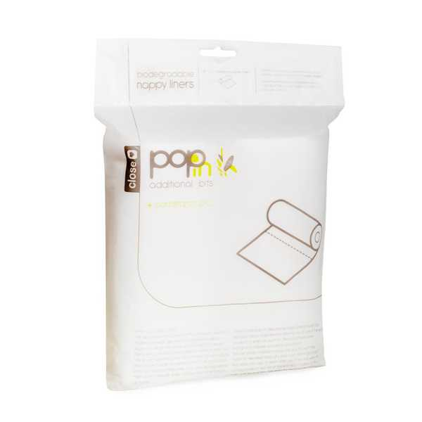 Close Pop In Biodegradable Nappy Liners (160 pack)