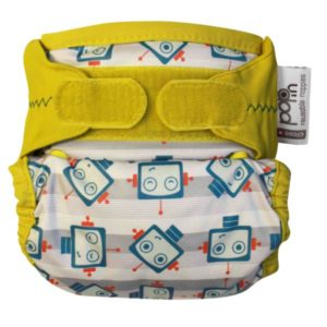 Close Pop-In Single Nappy - Robot
