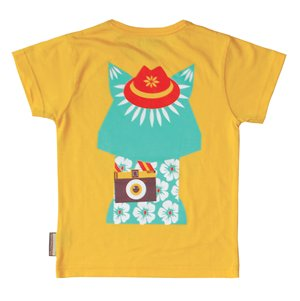 Coq En Pate Mibo Tshirt - Yellow Cat