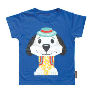 Coq en Pate Mibo Tshirt - Blue Dog