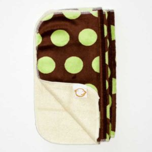 Cushie Tushies Reusable Wipes - Choc Bubbles