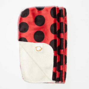 Cushie Tushies Reusable Wipes - Ladybird