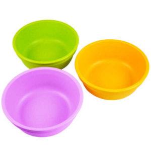 Dandelion Re-Play Bowls 3 Pack - Purple, Green, Orange
