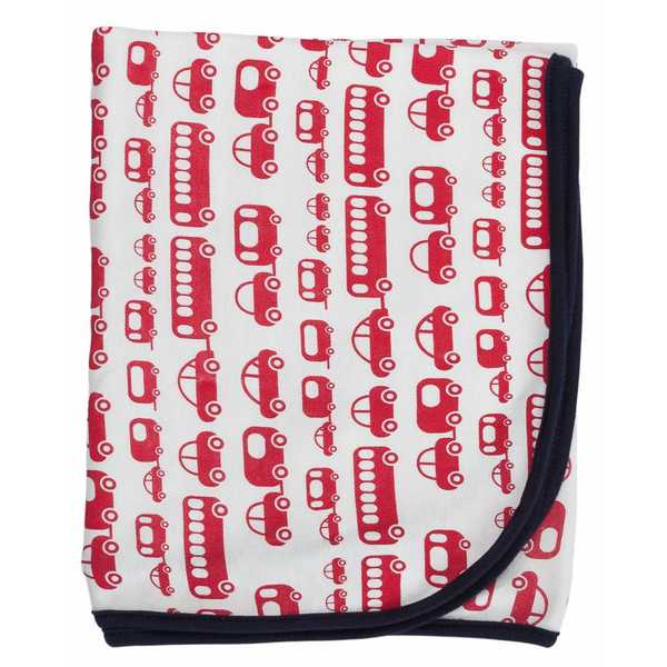 Gaia Organic Cotton Baby Wrap - Red Cars
