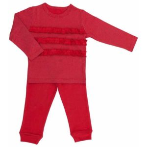 Gaia Organic Cotton Long PJ Set - Red Spots