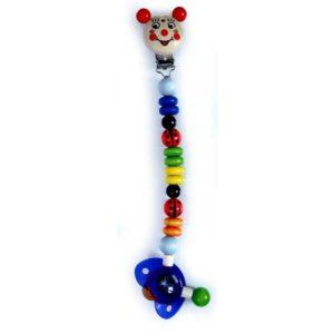 Hess-Spielzeug Pacifier Holder - Ladybird