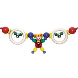 Hess-Spielzeug Pram String - Ladybird