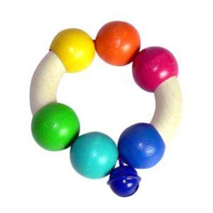 Hess-Spielzeug Rattle Rainbow