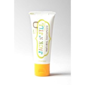 Jack n Jill Natural Toothpaste 50g - Organic Banana