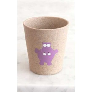 Jack n' Jill Rinse & Storage Cup - Hippo