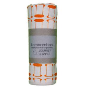 Kambamboo Journey Blanket - Marigold