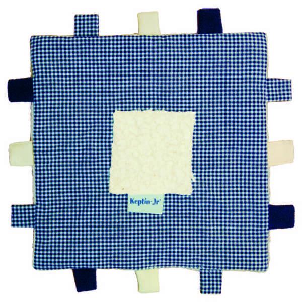 Keptin Jr Blankiez Label Square - Blue