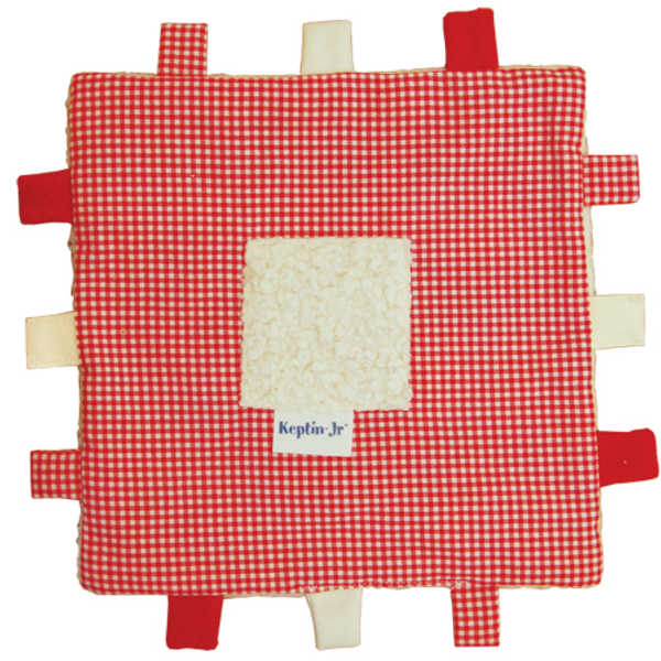 Keptin Jr Blankiez Label Square - Red