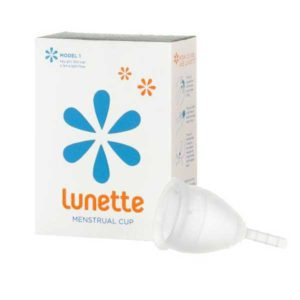 Lunette Menstrual Cup - Model 2 (Medium to Heavy Flow)
