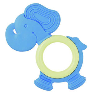 My Natural Eco Teether - Blue Elephant