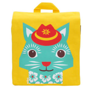 NEW Coq en Pate Mibo Backpack - Yellow Cat