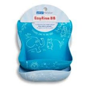 NEW Easy Rinse Bib- Blue