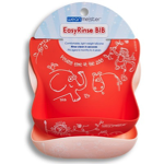 NEW Easy Rinse Bib- Pink