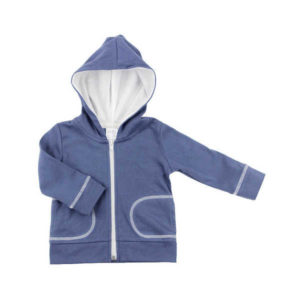NEW Gaia Boys Hooded Track Top - Navy