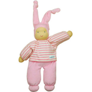 NEW Keptin Jr Rag Doll Girly Pink