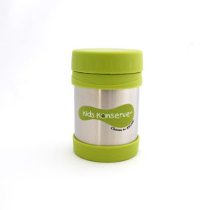 NEW Kids Konserve Insulated Food Jar - Green