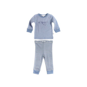 NEW Purebaby Boys PJ Set - North Pole Melange