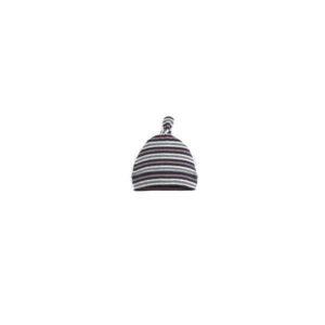 NEW Purebaby Knot Hat - Herring Stripe