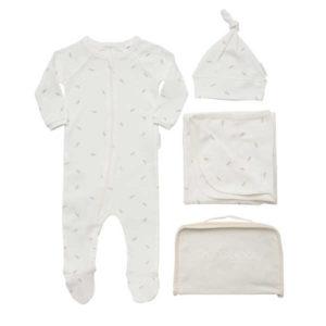 NEW Purebaby Newborn Zip Bag - Lily