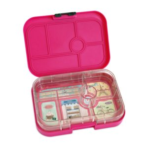 NEW Yumbox Leakproof Bento Lunchbox Original- Parisian Pink (Glow Stars)