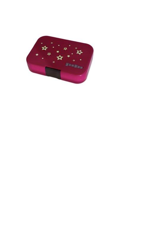NEW Yumbox Leakproof Bento Lunchbox Original- Parisian Pink (Glow Stars)2