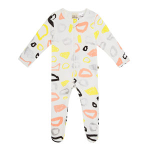 NEW milk & masuki All-In-One Zipsuit - Puddles
