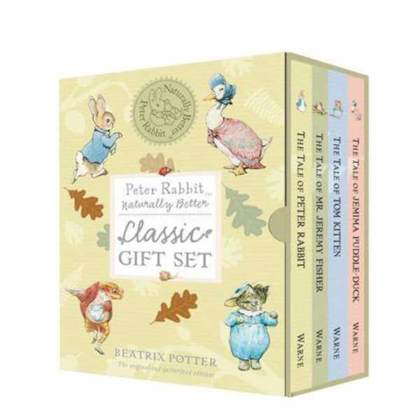 Peter Rabbit Naturally Better - Classic Gift Set