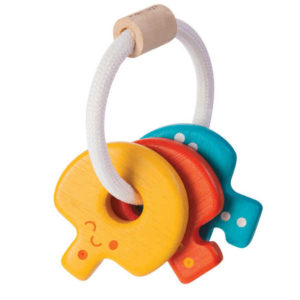 Plan Toys Baby Key Rattle