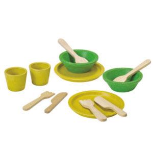 Plan Toys Tablewear Set