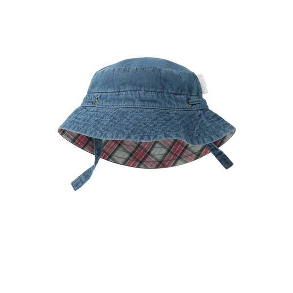 Purebaby Bucket Hat - Chambray