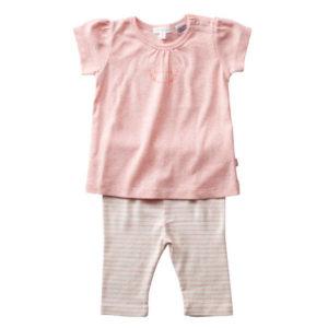 Purebaby Girls Pyjama Set - Musk Stripe