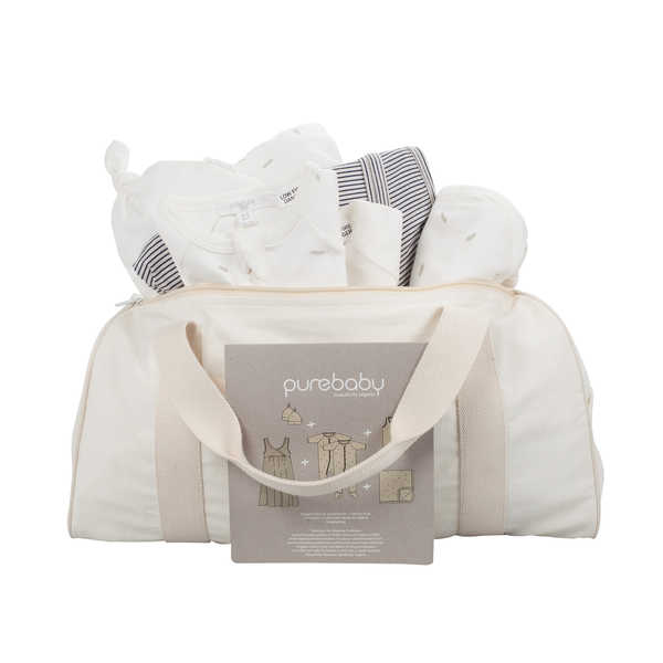 Purebaby Hospital Pack Zip Bag - Lily