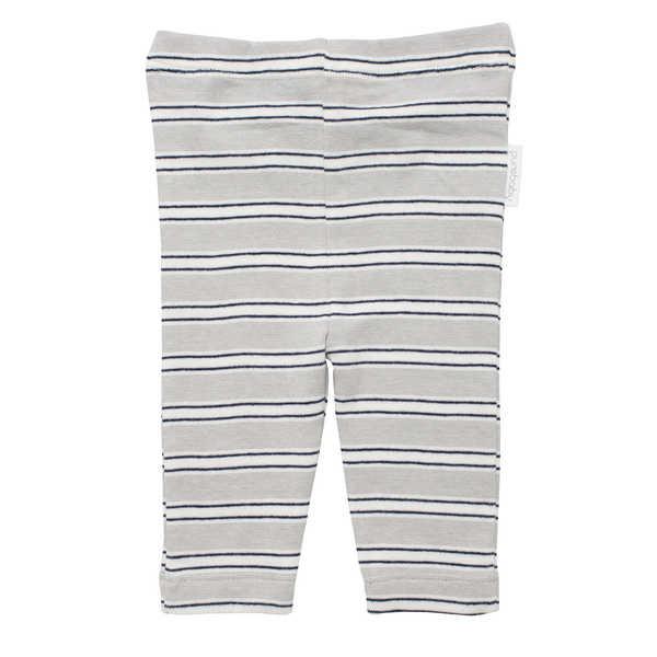 Purebaby Legging - Navy Stripe