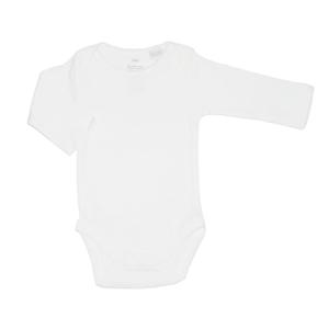 Purebaby Rib Bodysuit 2 Pack - White