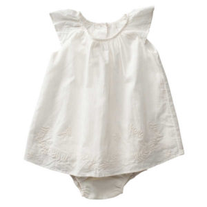 Purebaby Voile Dress with Bloomers